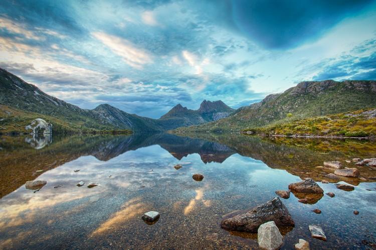 澳洲塔斯马尼亚摇篮山国家公园有着如天堂般的自然景致。