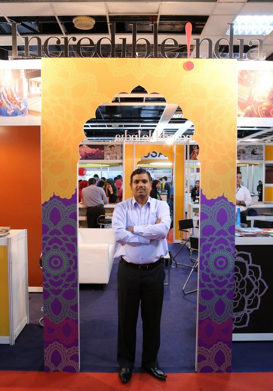 苏曼经常出席国内外各大旅游展,致力于推广印度旅游。