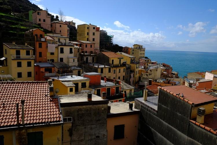 利欧马焦雷的民宅拥有美丽的景观。