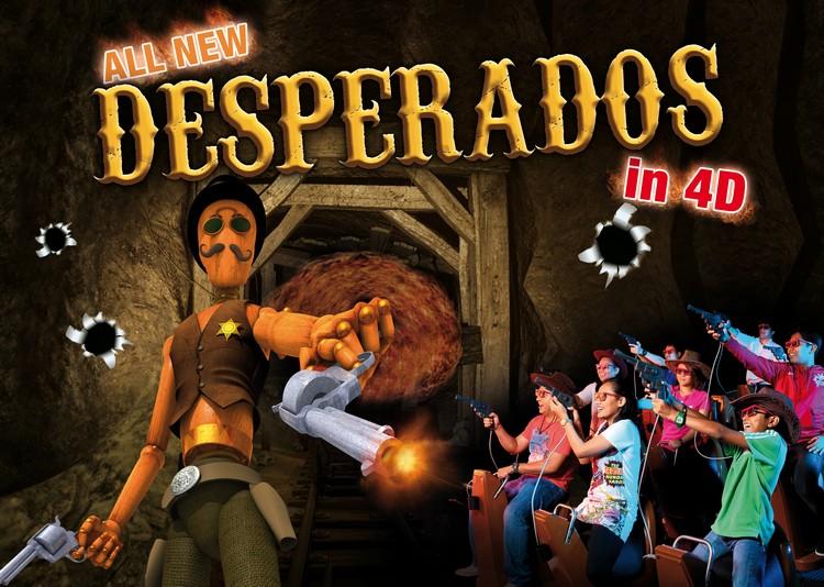 Desperados in 4D