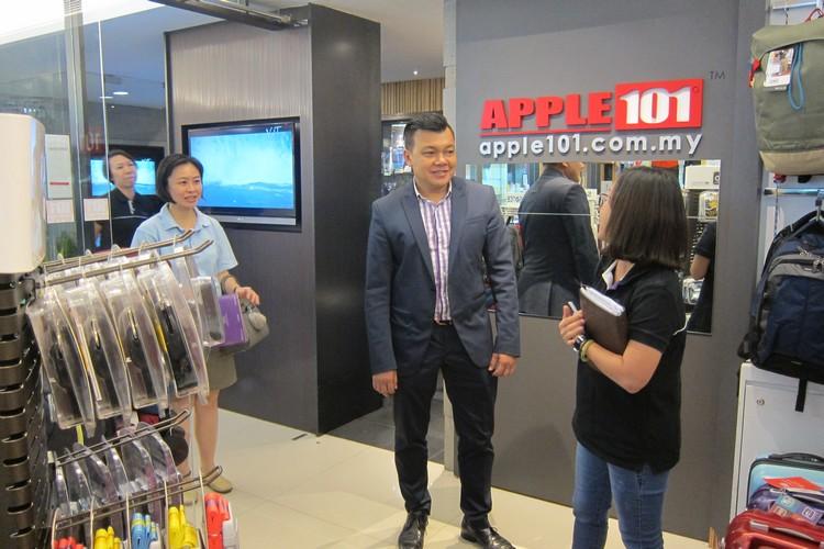 参观蘋果101精品兑换部