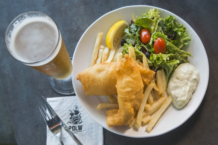 Fish & Chips + Beer