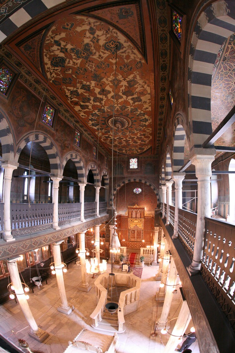 Cairo-Egypt-The-Ben-Ezra-Synagogue