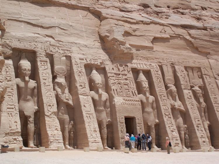 Nefertari's Temple at Abu Simbel