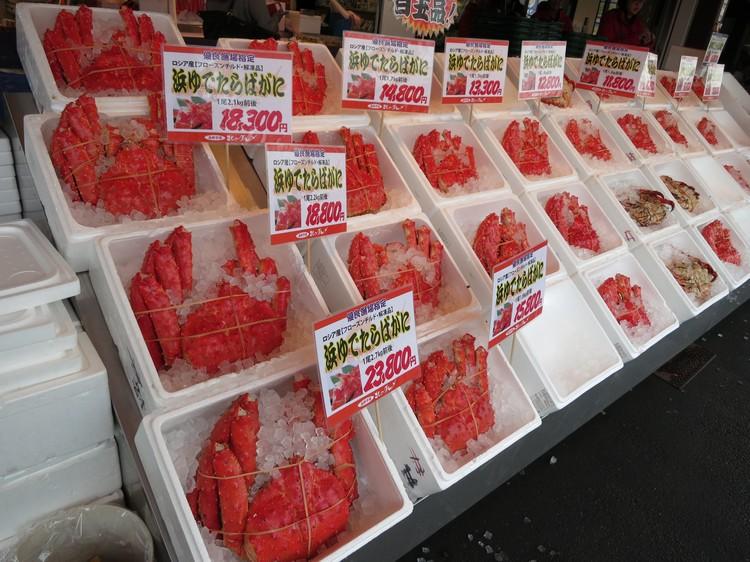 在冷凉海水的围绕下,北海道的海鲜品质更是一绝。