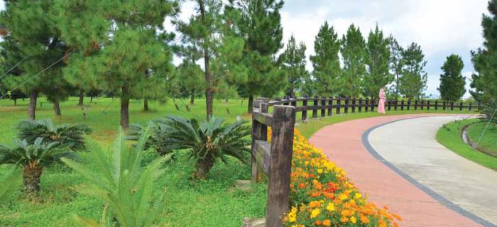 Saujana Hijau – savour the ambience of high country at Putrajaya