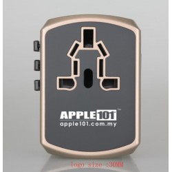 Apple Universal Travel Adapter With Smart Dual Fuse&USB Charger