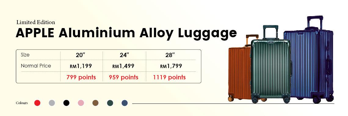 Apple aluminium  Alloy Luggage