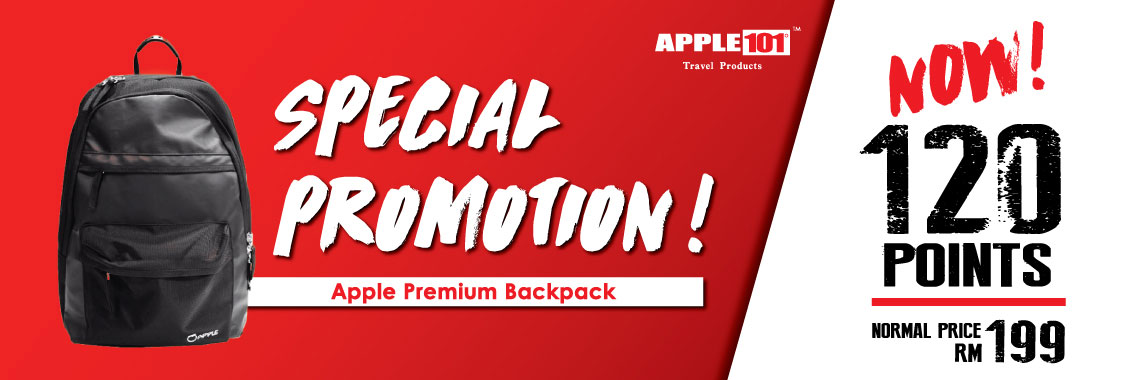 Apple Premium Backpack