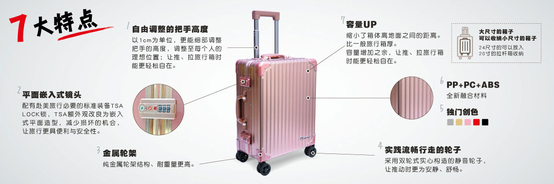 "Apple 24"" Luggage"