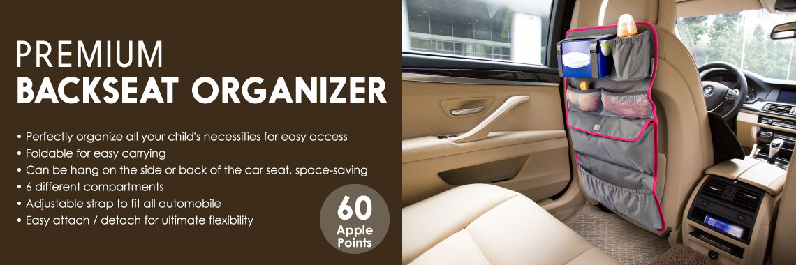 Premium Backseat Organizer