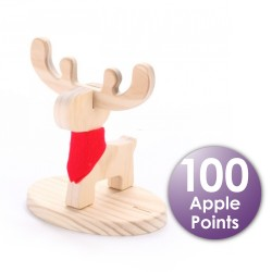 Carpenter Deer Cup Holder