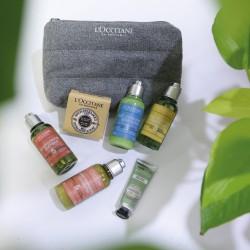 L'Occitane Relaxing Aroma Travel Kit Set