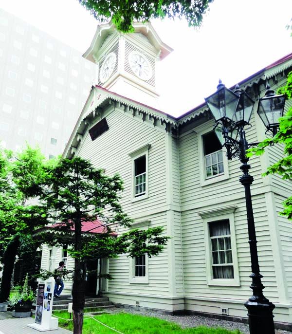 钟声鸣响持续了129年,为日本最后的钟塔。