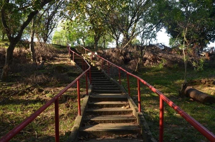 三宝山行人阶梯。