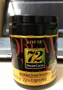 LOTTE DREAM CACAO -- 75%黑巧克力