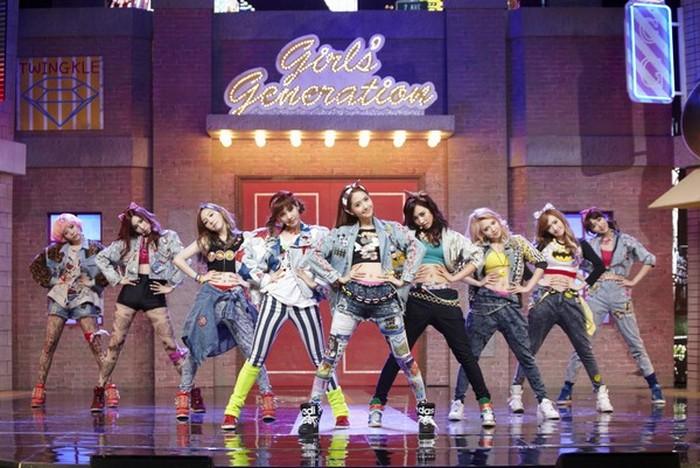 韩国著名团体,SNSD- 少女时代