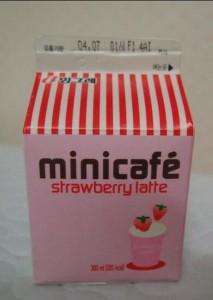 MINI CAFE 草莓拿铁