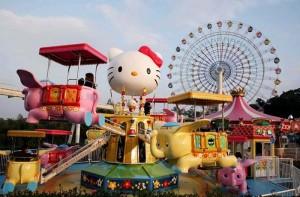 东京三丽鸥彩虹乐园(Hello Kitty)