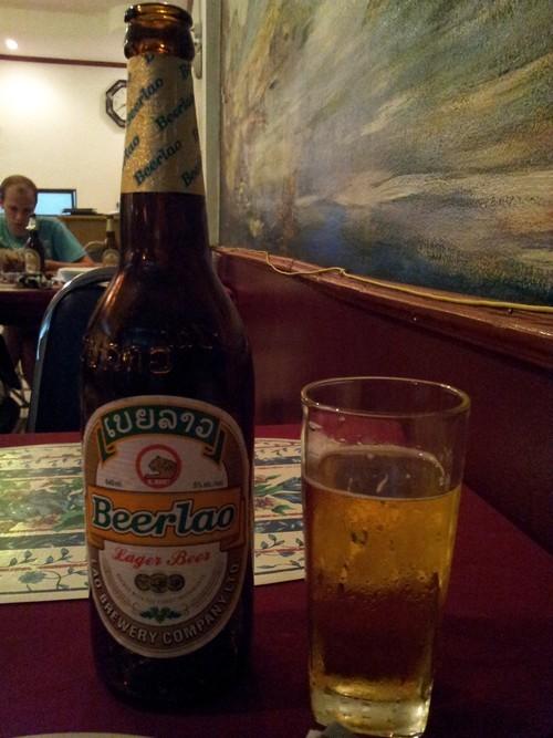 到了永珍,怎么能不尝一尝它的老挝啤酒呢?
