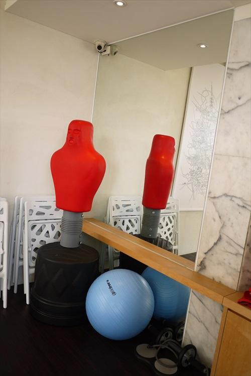 为女性规划设计的瑜珈冥想室。