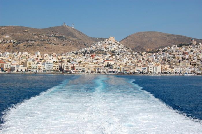 舍不得,也要离开。希腊,你等我!