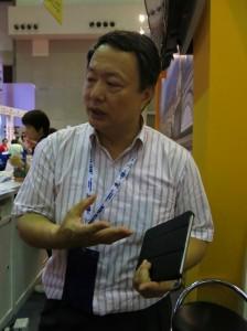 曹主任表示,电子化的方便已让游客们到台湾观光。