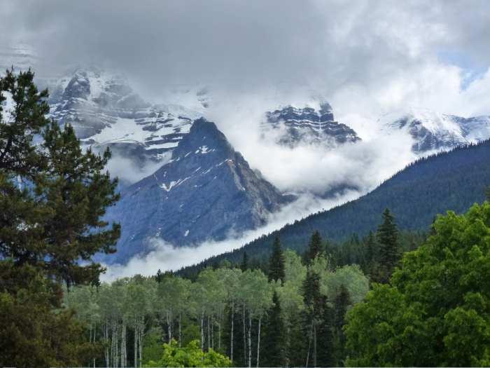 国家公园内景色优美,有高耸入云峰、白雪覆盖非常壮观的山脉冰峰群,还有川流不息的河流与瀑布、、湖泊、高山草原和无数的温泉。(一)