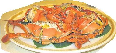 """一道螃蟹,充滿""""诱惑""""。"""