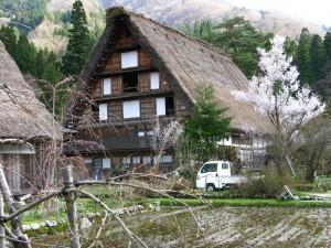 世界文化遗产 --- 白川乡合掌村