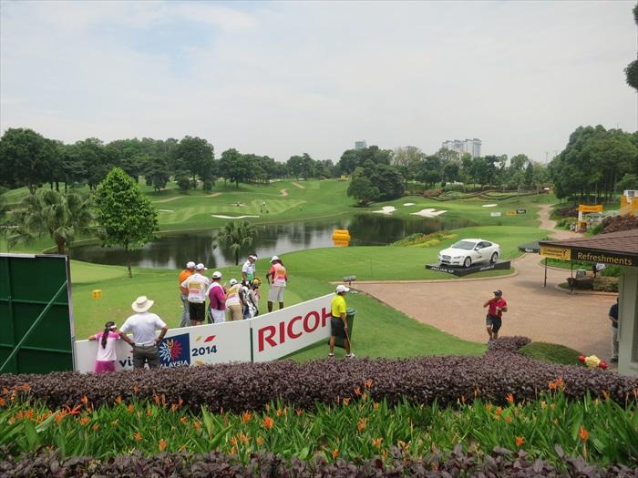 马来亚银行 马来西亚高尔夫球公开赛(MAYBANK MALAYSIAN OPEN 2014)火热进行中!