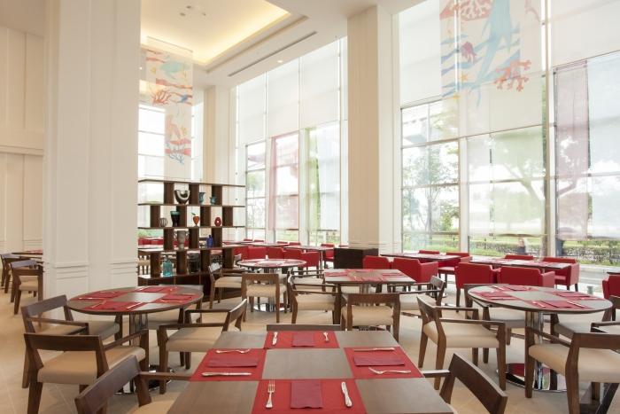 明亮的餐厅,开启你一天的美好心情。