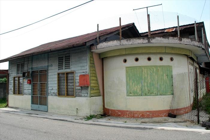 宋溪新村房屋。