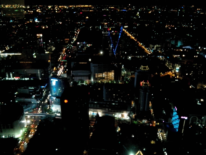 曼谷的不夜城...