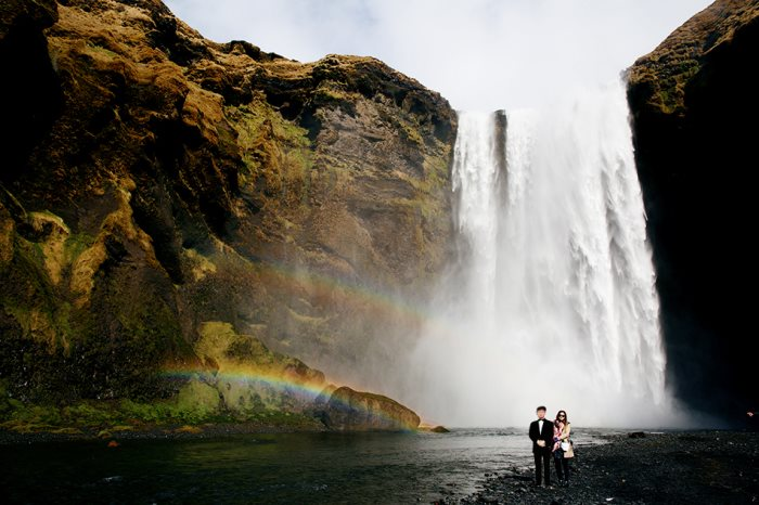 冰岛 ‧ SKOGAFOSS 瀑布 (SKOGAFOSS WATERFALL – ICELAND)