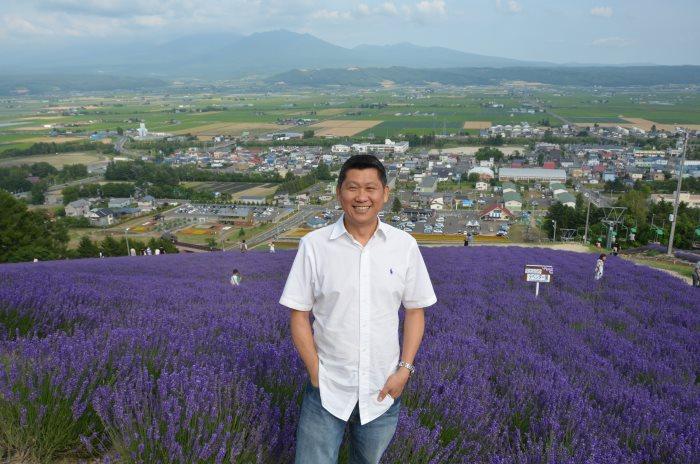 北海道薰衣草花田最叫人着迷。