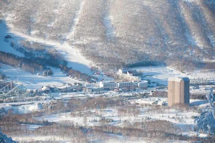 冬季的留寿都度假村景观,漂亮吧?