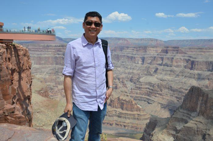 美国科罗拉多大峡谷,是最能感动李桑的世界自然文化遗产之一。