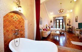 气氛浪漫的卡尼花园双人房,很适合夫妻情侣前来度蜜月。