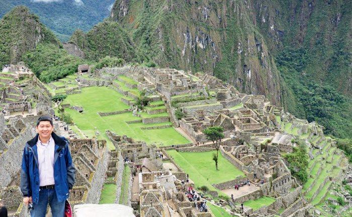 印加遗址——秘鲁马丘比丘。