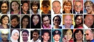 MH17不幸罹难的空服人员(图片摘自星洲网)
