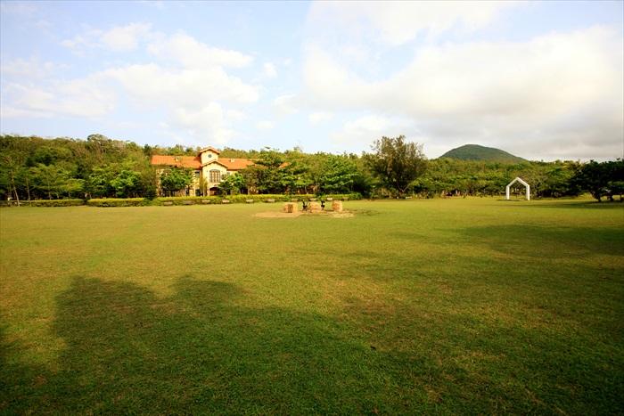 一大片草原,配上清新空气,令我流连忘返。