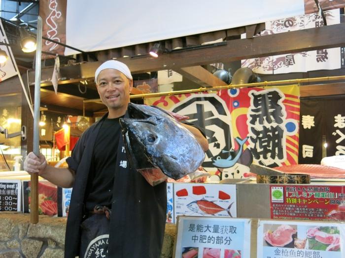 鲔鱼名人——泉先生