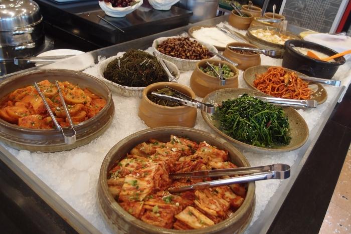 各样韩式小菜