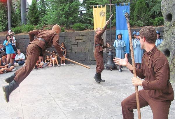 三大魔法学校对抗赛。 (摘自https://www.universalorlando.com)