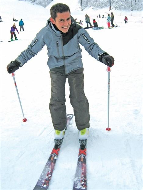 只要做好完全的装备,滑雪一点也不危险。