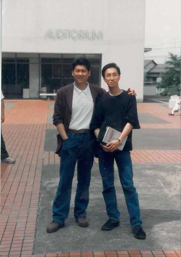1995年,李桑与许桑