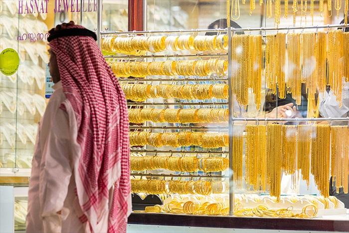 有人笑说,迪拜人买黄金就像买白菜般寻常哟!