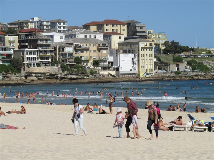 邦地海滩是阳光男女的聚集地,一同快乐地在此摄取维生素D吧!