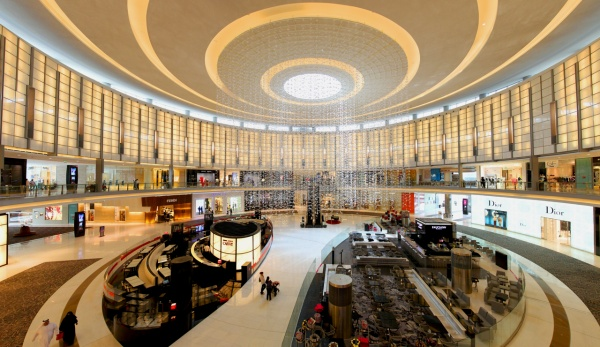 The Dubai Mall - Fashion avenue